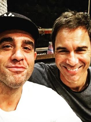 Bobby Cannavale and Eric McCormack played boyfriends on Will & Grace. Picture: Instagram