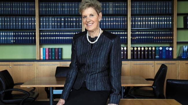 Family Court Chief Justice Diana Bryant in Melbourne yesterday. Picture: Aaron Francis