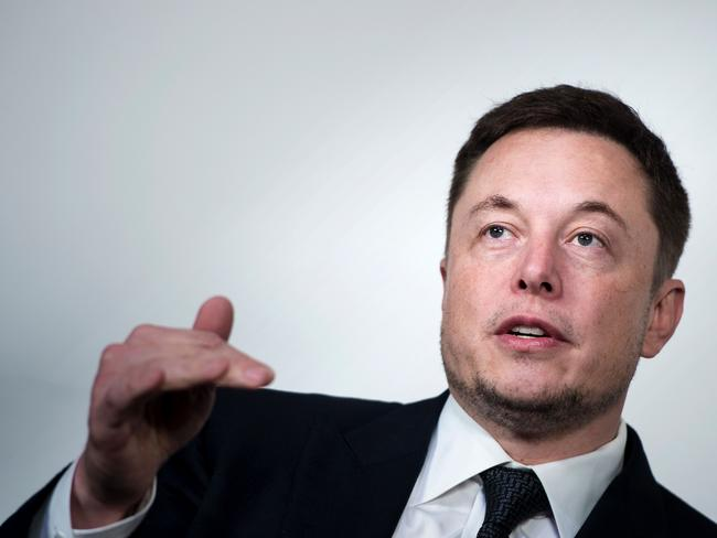 The race to develop artificial intelligence could spark World War Three, according to Elon Musk. Picture: AFP