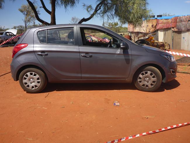 The grey Hyundai i20 police are seeking sightings of.
