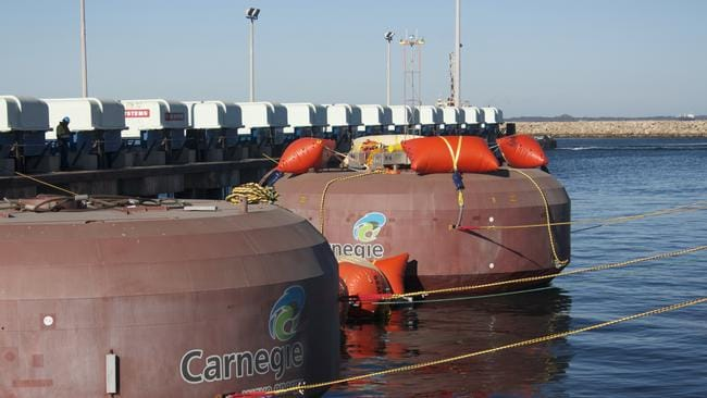 Perth Company Carnegie Wave Energy Awarded 2 5m For World