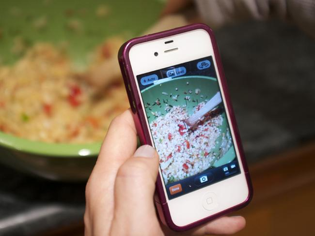 Maybe there's a hidden trick to let you upload photos of your food to Instagram even faster.