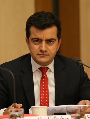 Critic ... Labor Senator Sam Dastyari.