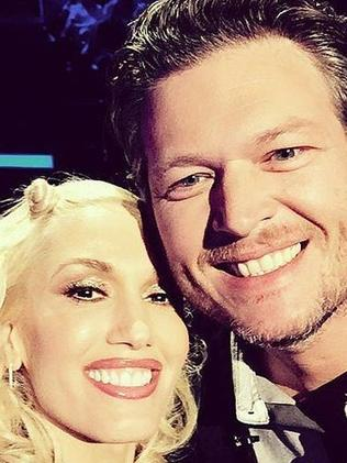 New relationship ... Gwen Stefani and fellow Voice coach Blake Shelton are dating. Picture: Instagram