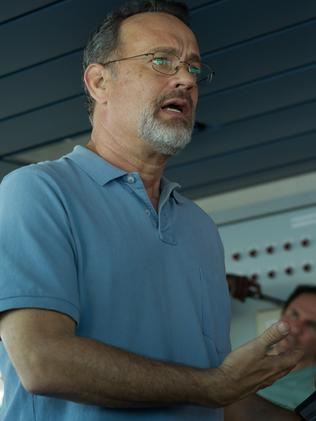 Tom Hanks as Captain Phillips.