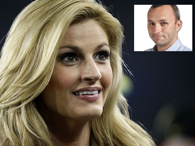 Kirk Minihane (inset) has issued an insincere apology to Erin Andrews.