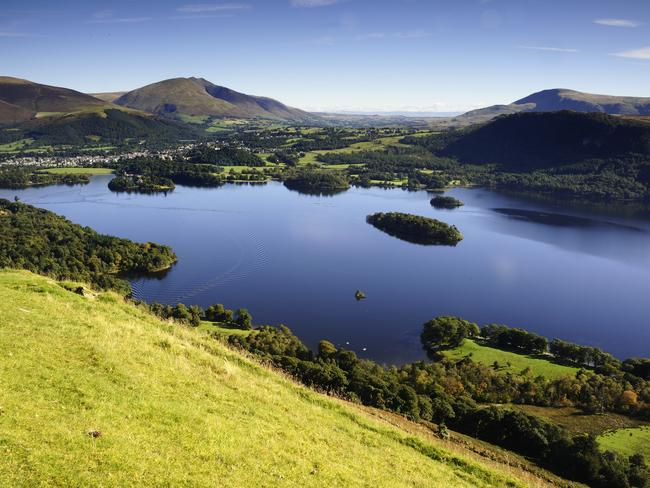 Derwent Water to Blencathra, UK. Picture: Supplied