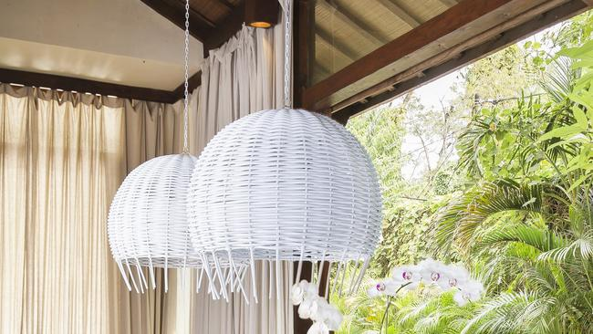 Byron Bay pendant light from Gypset Cargo, $890
