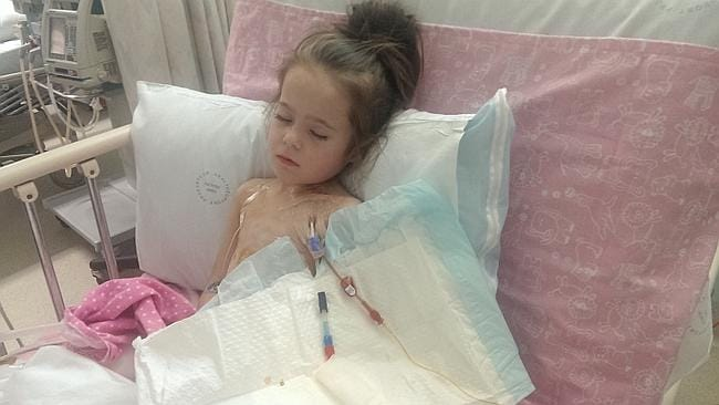 A success story. Four-year-old Emma Jovanovski was treated with Soliris.