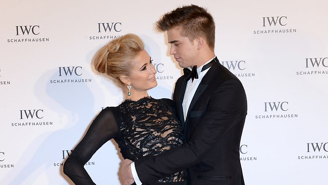 Paris Hilton and boyfriend River Viiperi, here at Hotel du Cap-Eden-Roc, Antibes, May 19, 2013, marked their first anniversary in the south of France.