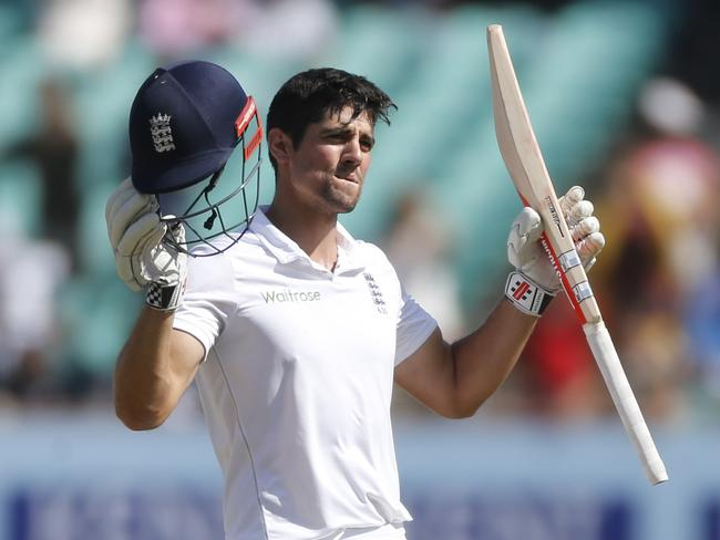 Alastair Cook has relinquished the England Test captaincy.