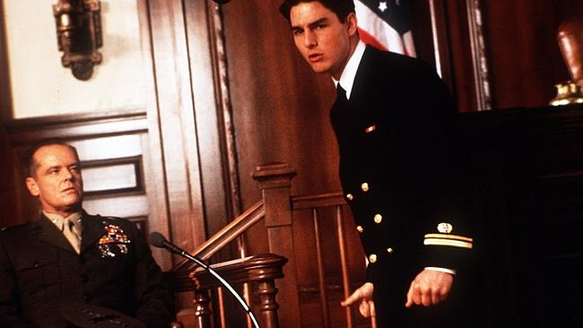 """""""Sir"""" was said on average every 50 seconds in """"A Few Good Men""""."""