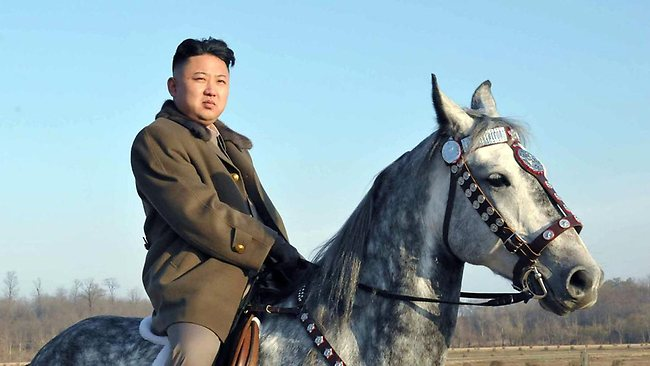North Korean leader Kim Jong-un has been named 2012's 'Sexiest Man Alive', China's Communist Party newspaper proclaimed after treating a spoof award by satirical US website The Onion as genuine. Picture: AFP