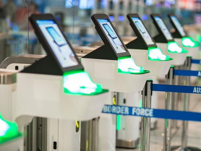 SmartGates now in operation across Australia's eight international airports.