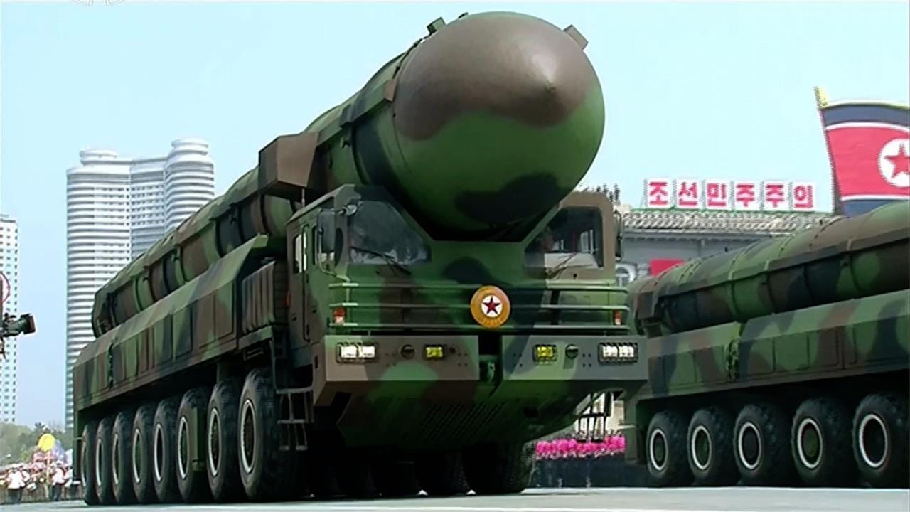 Image result for North Korea missile launch, Asian markets take a hit, Australia P