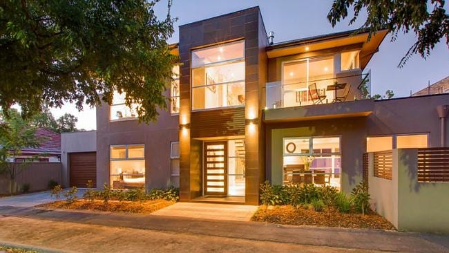 INTEREST was strong for 14a River St, St Peters in South Australia which sold for $1.285 million. Picture: realestate.com.au