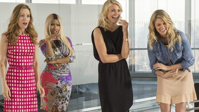 Kate Upton starred alongside stars, Leslie Mann, Nicki Menaj and Cameron Diaz in  <i>The Other Woman. </i>