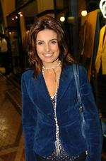 Actor Ada Nicodemou at QVB in Sydney for Breil watches and jellellery, launches their new concept store.