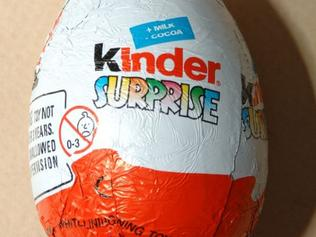 Supplied Editorial Donald Ewers had crack cocaine and heroin concealed in a Kinder Surprise case