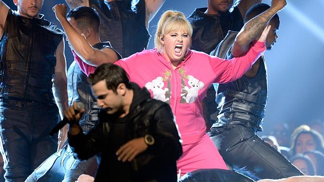 Rebel Wilson is our biggest comedy export of recent years — but she's certainly an acquired taste. Picture: Getty