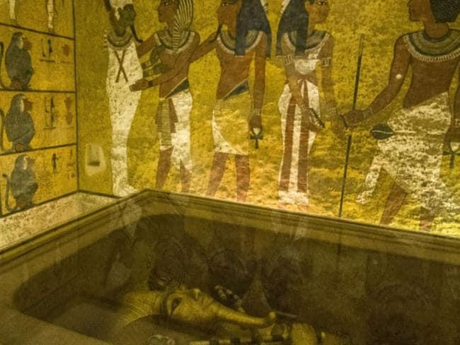 King Tut's tomb, Valley of the Kings, Egypt.