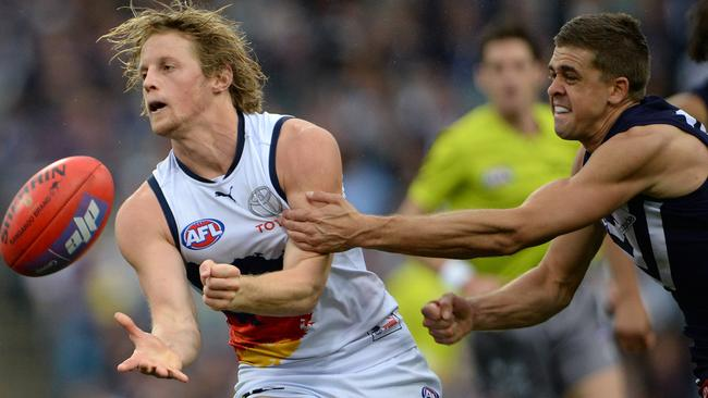 Rory Sloane wears No.9 with distinction.