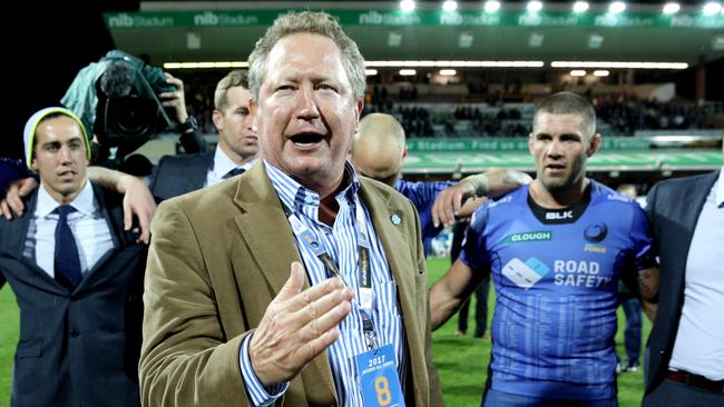 Fortescue Metals Group chairman Andrew Forrest has vowed to fight for the future of the Western Force.
