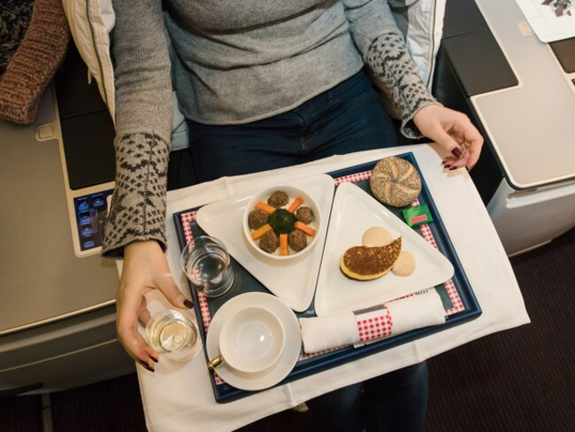 Ordering a special meal may hurt your chances of being offered an upgrade.