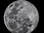 Stephen Scheer had to wait for the clouds to clear to get this great moon shot. We're glad he did