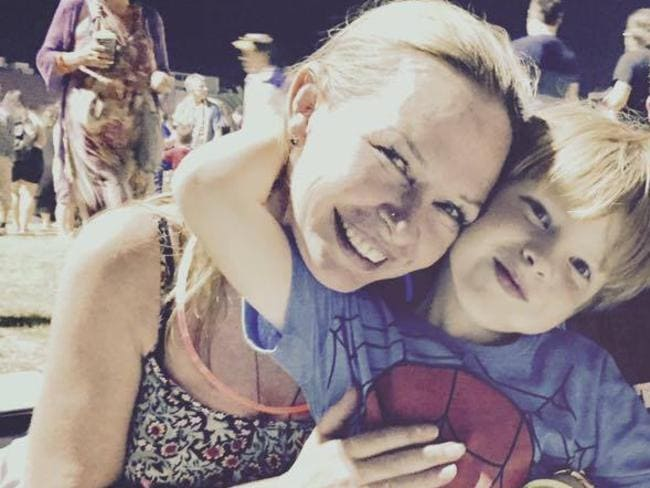Lisa and son Benjamin. Picture: Lisa Ann Tapp