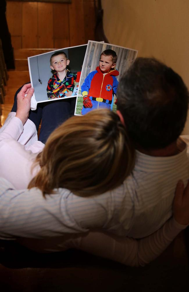 Names of William Tyrrell's foster parents (above) cannot be revealed because of child protection laws.