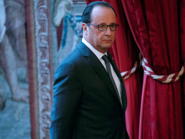 French President Francois Hollande said the election of the 45th President of the US 'reaches far beyond the United States.' Picture: AFP / Yoan Valat