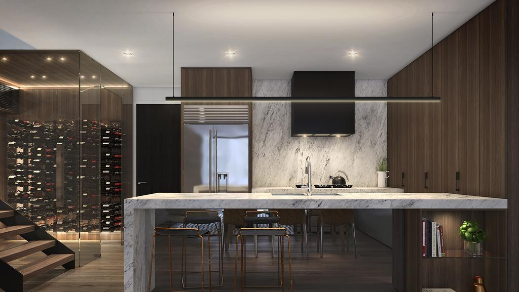 Is this Brisbane best apartment kitchen? It will be on show tonight at One Oak, Newstead.