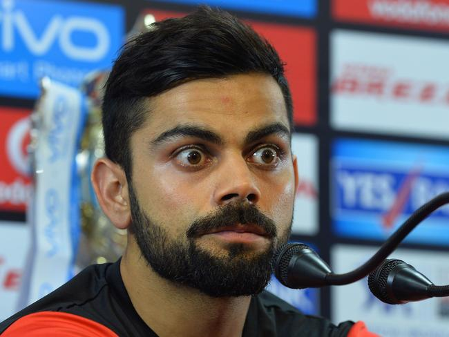 Words you never thought you'd hear from Kohli
