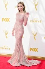 Giuliana Rancic attends the 67th Annual Primetime Emmy Awards in Los Angeles. Picture: Getty