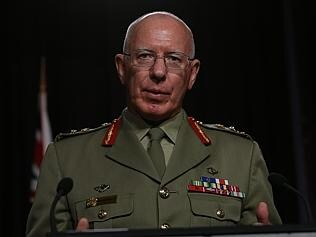 Discussions with the Indonesians ... Chief of the Defence Force, General David Hurley.