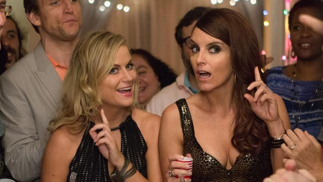Falls flat ... Amy Poehler and Tina Fey are back together in Sisters.