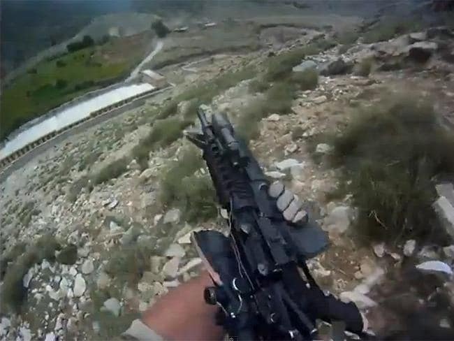 Afghanistan firefight video
