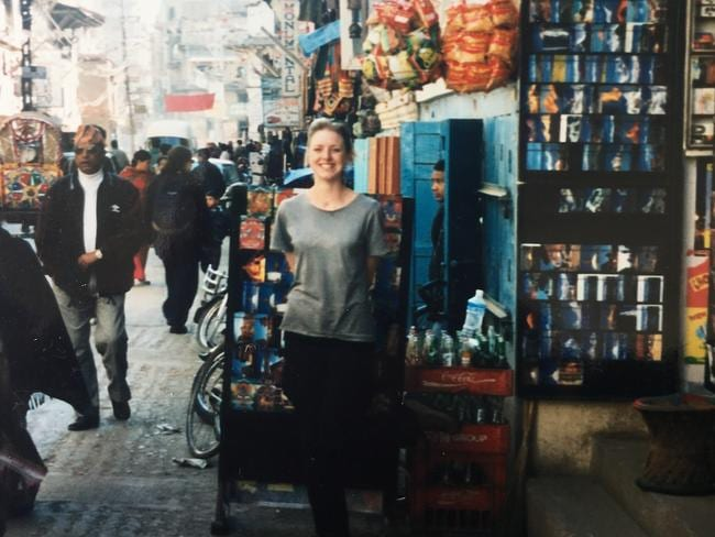 Alice Williams hasn't quickly forgotten her fateful trip to Nepal. Picture: Alice Williams