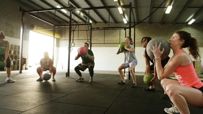 Do as the cavemen did: squat deeply with a heavy medicine ball in your hands. Err, wait.
