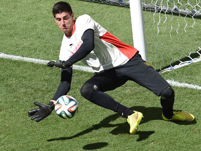 Thibaut Courtois has emerged as a challenger to Petr Cech's 10-year rein at Chelsea.