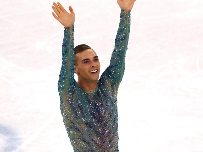 Adam Rippon has become a cult hero of the Games.