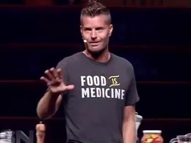 Celeb chef Pete Evans isn't shying away from his paleo views. Picture: Seven