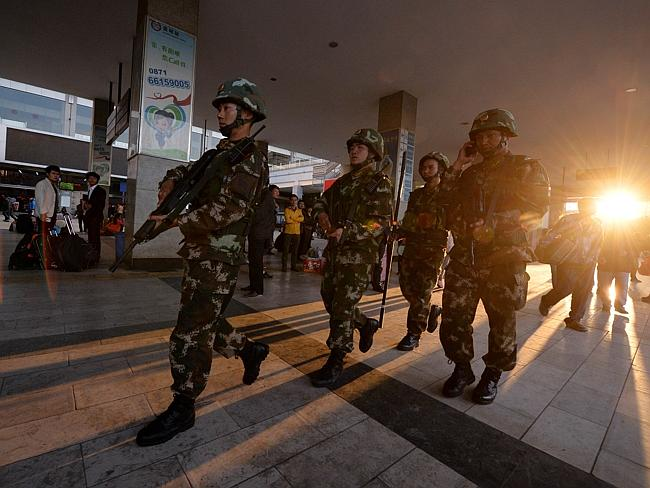 Three captured after 'China's 9/11'