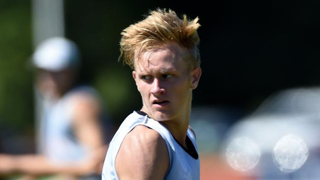Jaidyn Stephenson has been named for Collingwood. Picture: Nicole Garmston