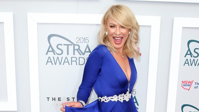Kerri Anne Kennerley Flashes Her Ass At The Astra Awards