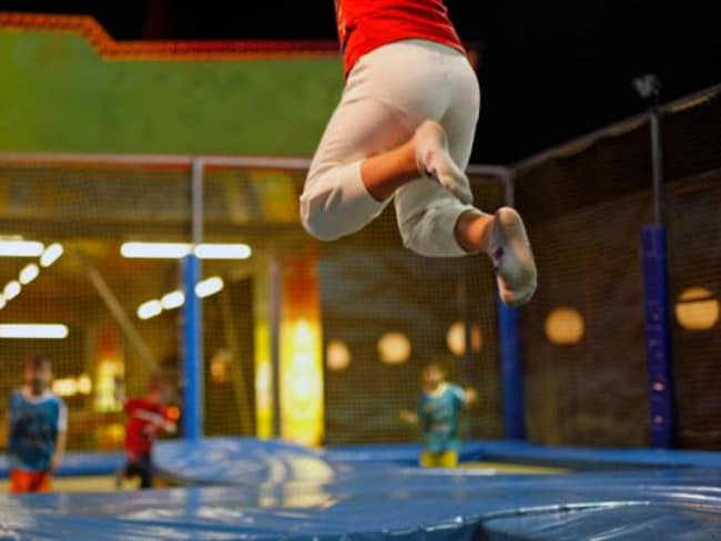 Many trampoline parks come with a ticket and disclaimer. The rest is up to the parents. Image: iStock