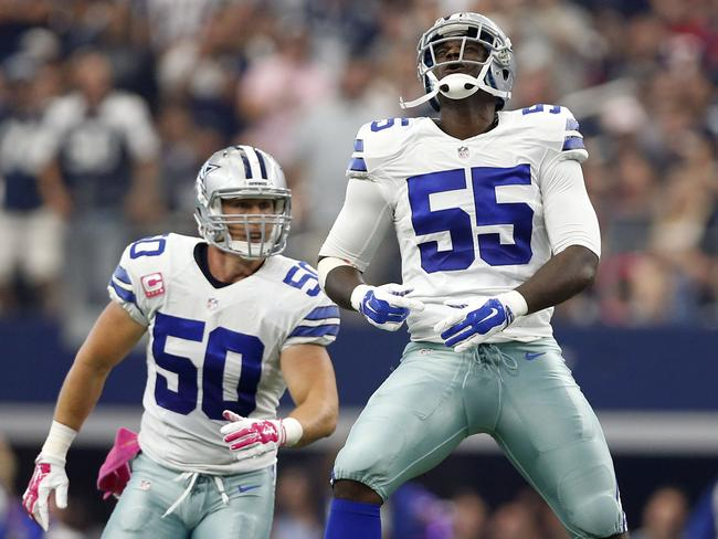 McClain is a handy linebacker for the Dallas Cowboys.