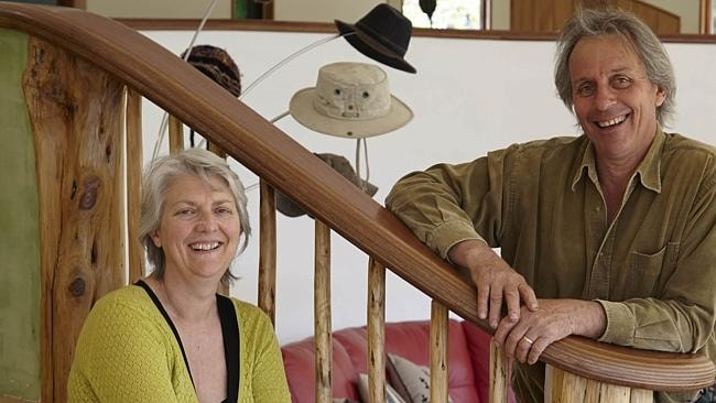 Big project: Tasmanian couple Jane and Col don't do things by halves on Grand Designs.