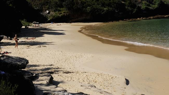 Little Congwong is an unofficial nudist beach in La Perouse. Picture: Erin Byrne